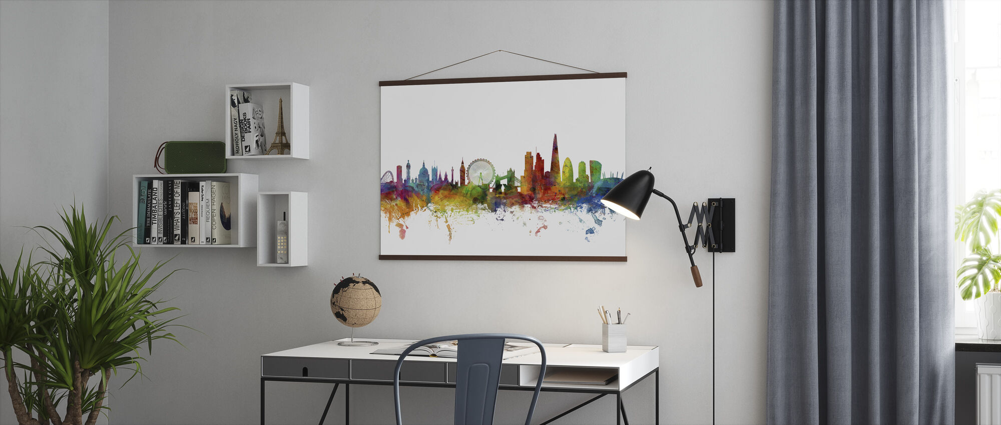 London Skyline 2 - Plakat - Kontor