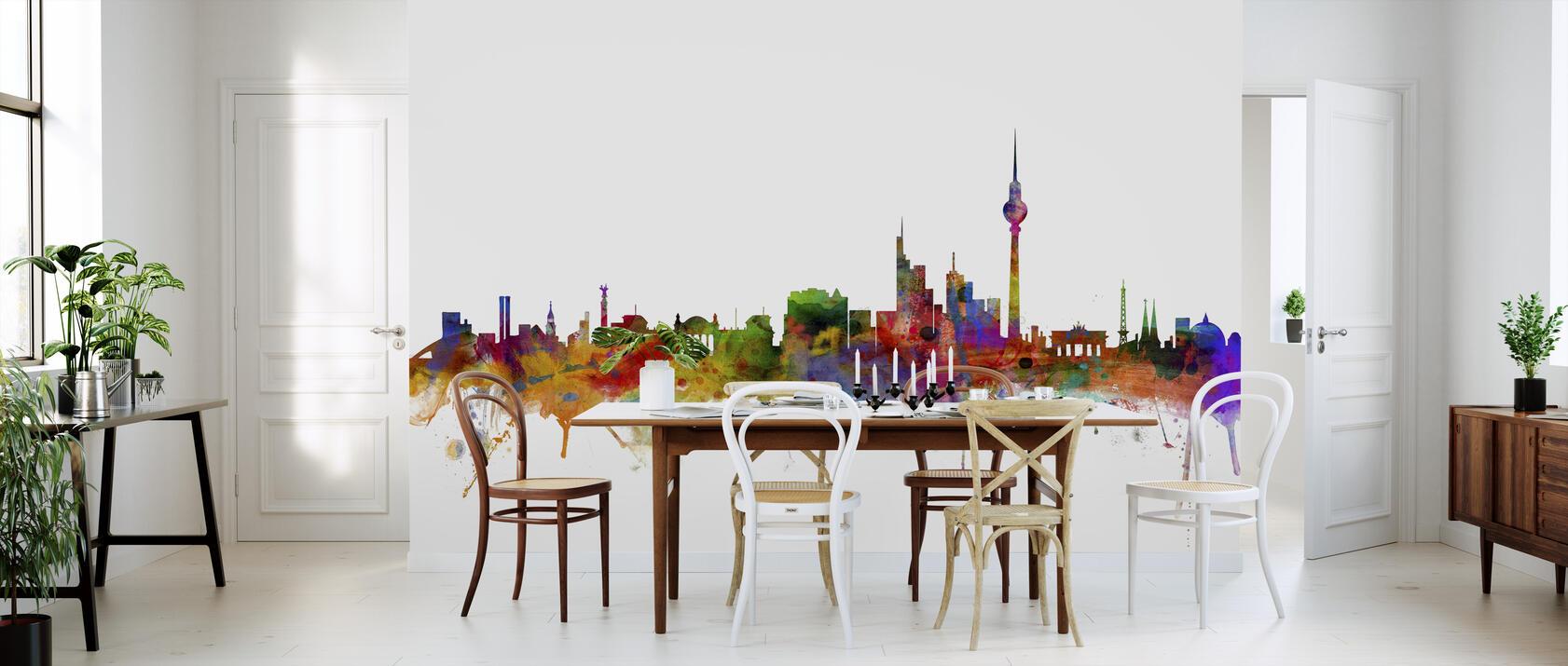 berlin skyline beliebte fototapete photowall. Black Bedroom Furniture Sets. Home Design Ideas