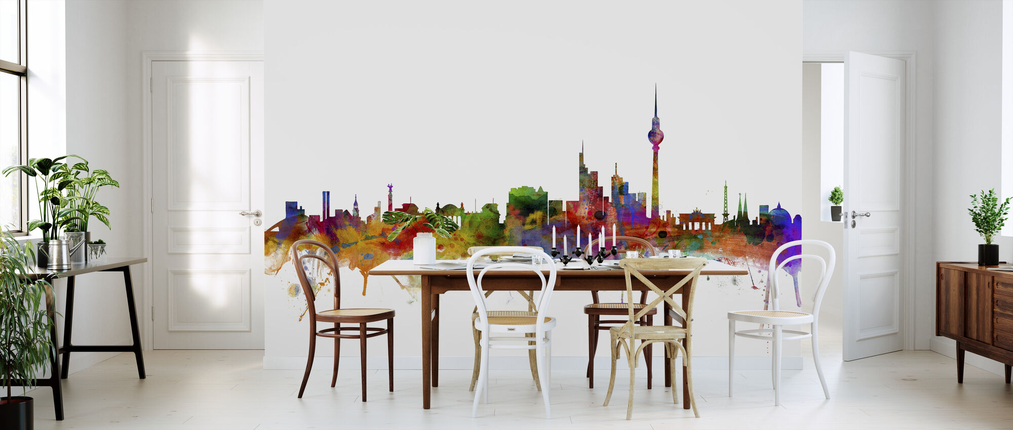 Berlin Skyline - Wallpaper - Kitchen
