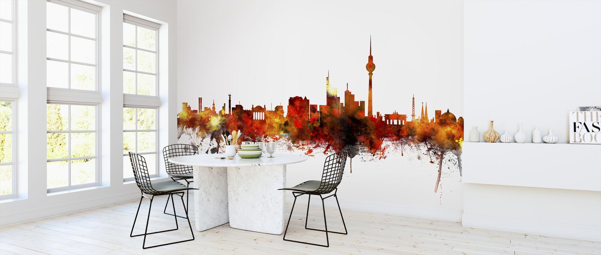 Berlin Skyline 2 - Wallpaper - Kitchen