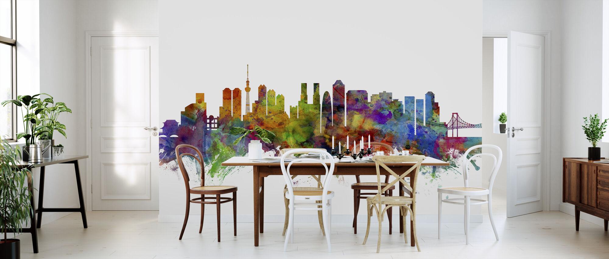 Tokyo Skyline - Wallpaper - Kitchen
