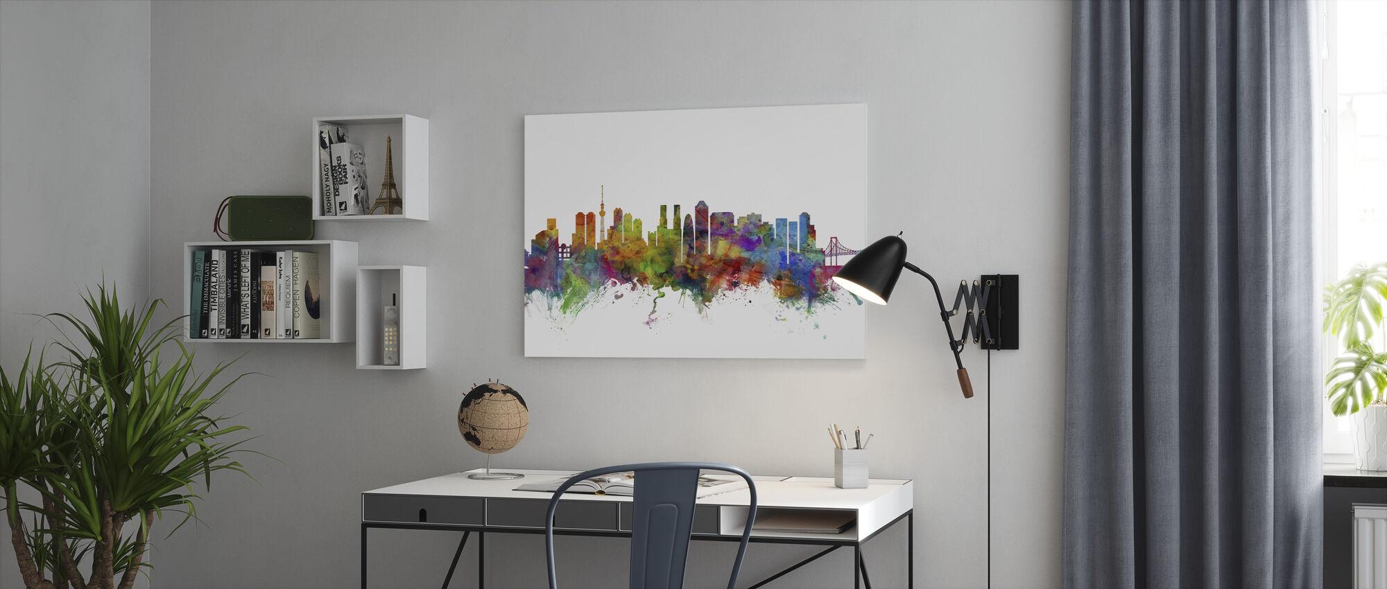 Tokyo Skyline - Canvastavla - Kontor