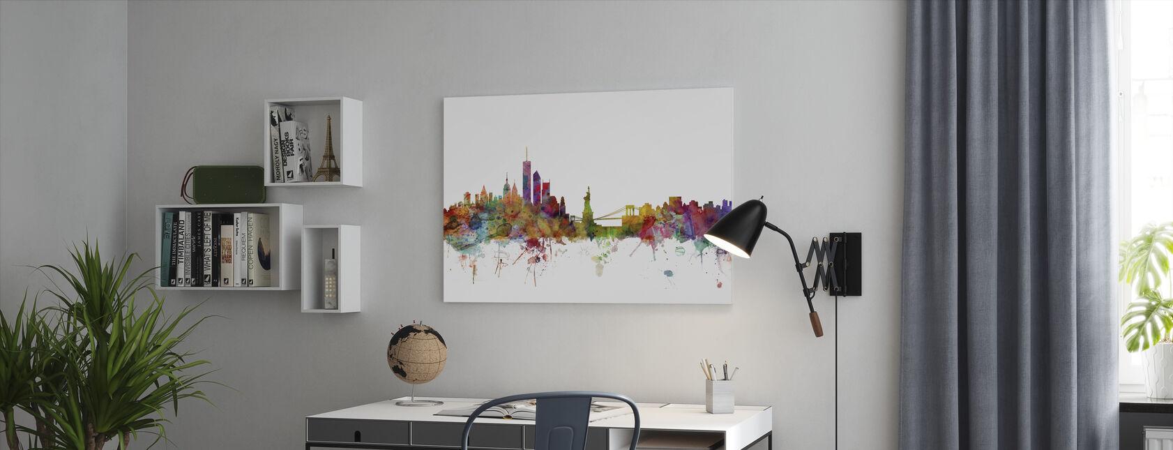 New York Skyline - Canvas print - Office
