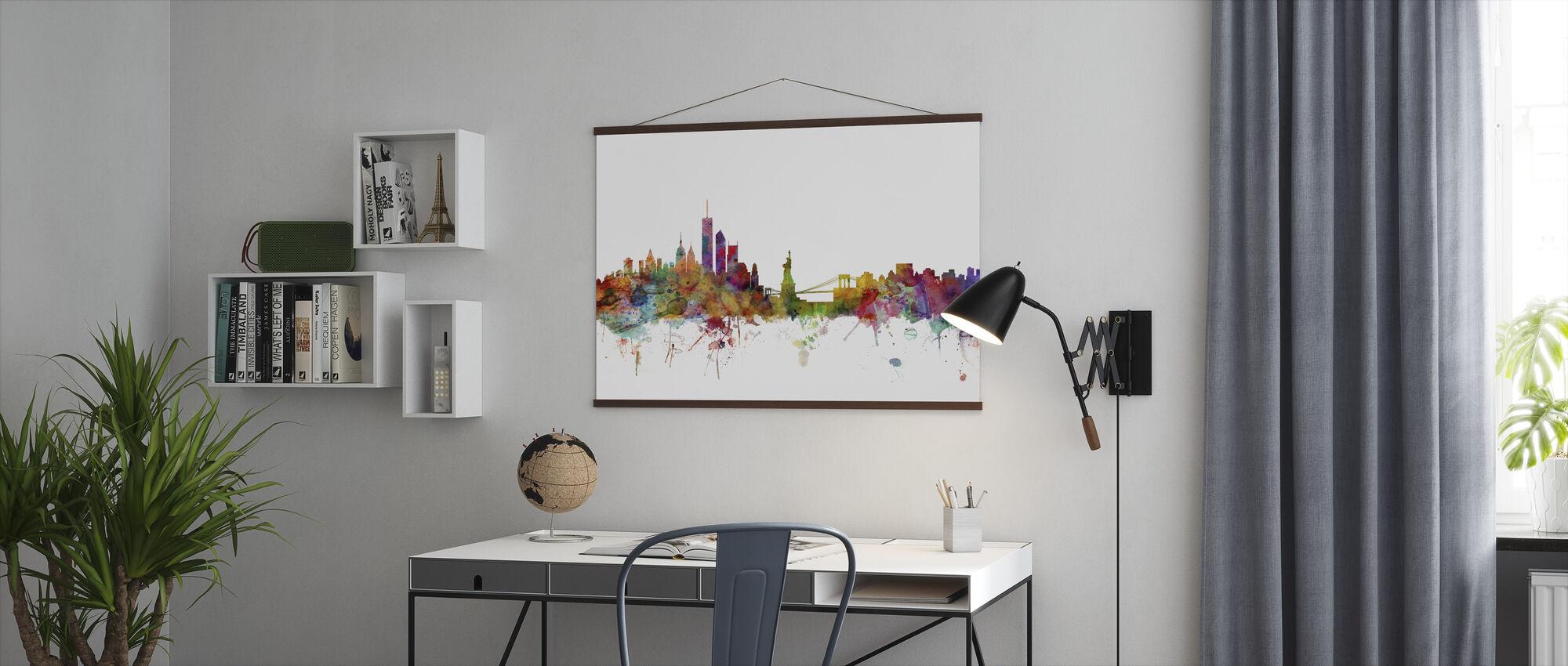 New York Skyline - Poster - Office