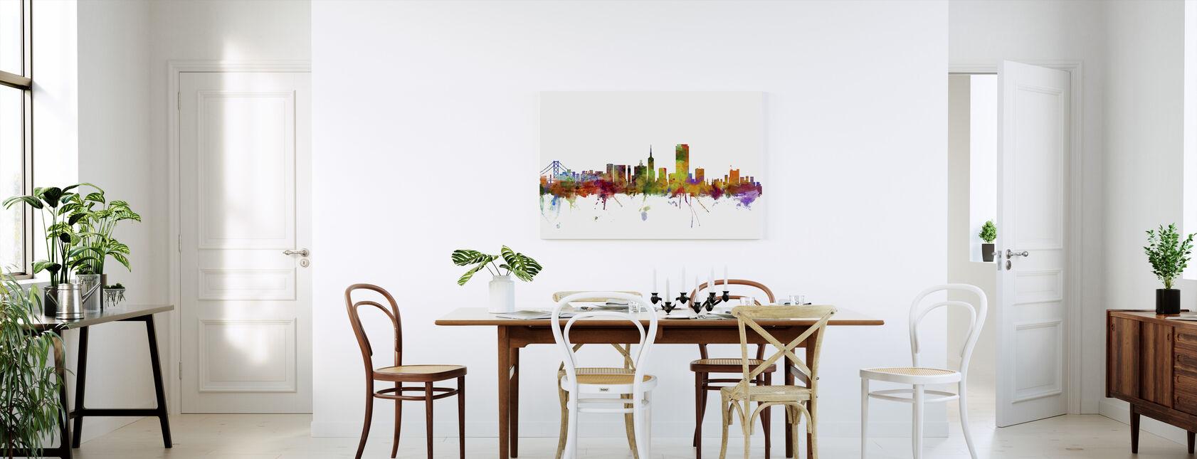 San Francisco Skyline - Canvas print - Kitchen