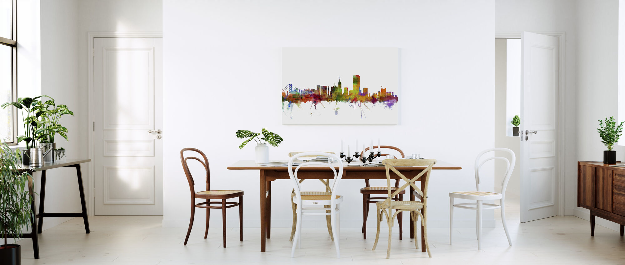 San Francisco Skyline - Canvas print - Kitchen