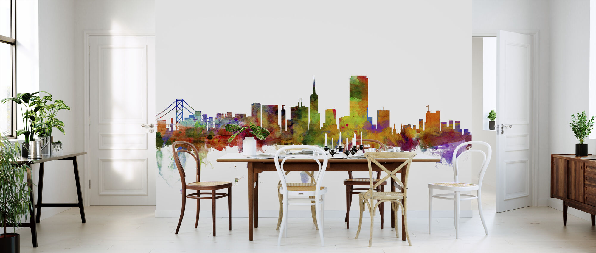San Francisco Skyline - Wallpaper - Kitchen