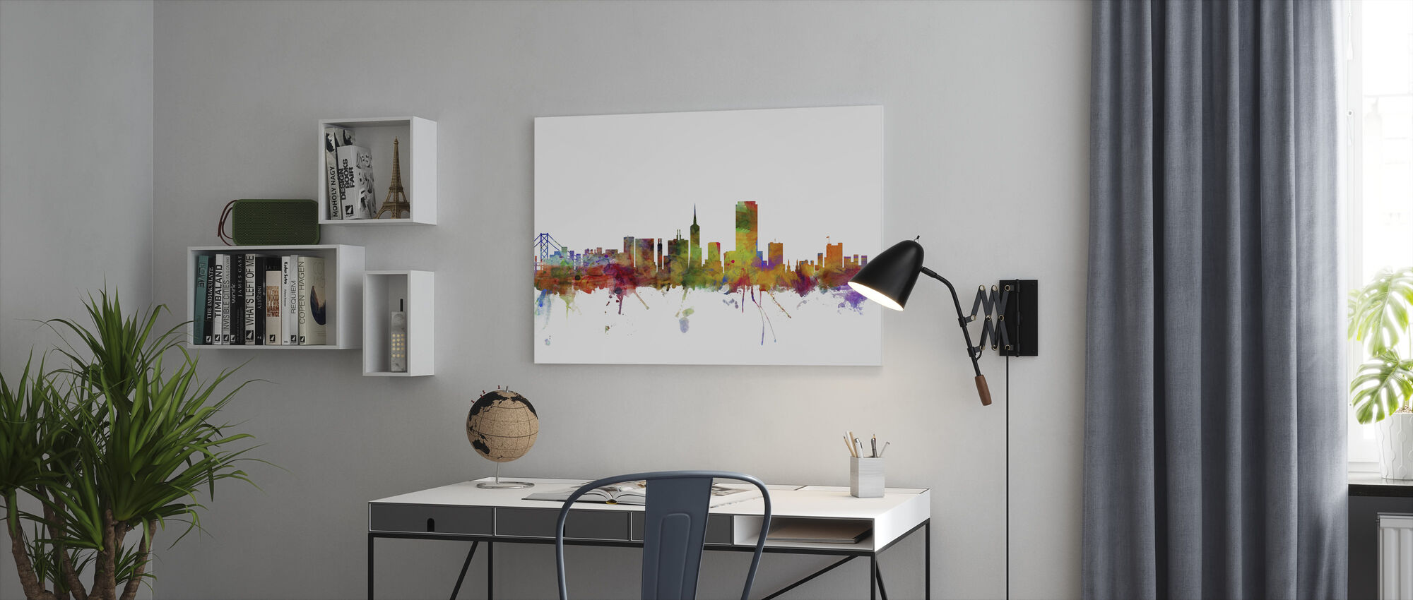 San Francisco Skyline - Canvas print - Office