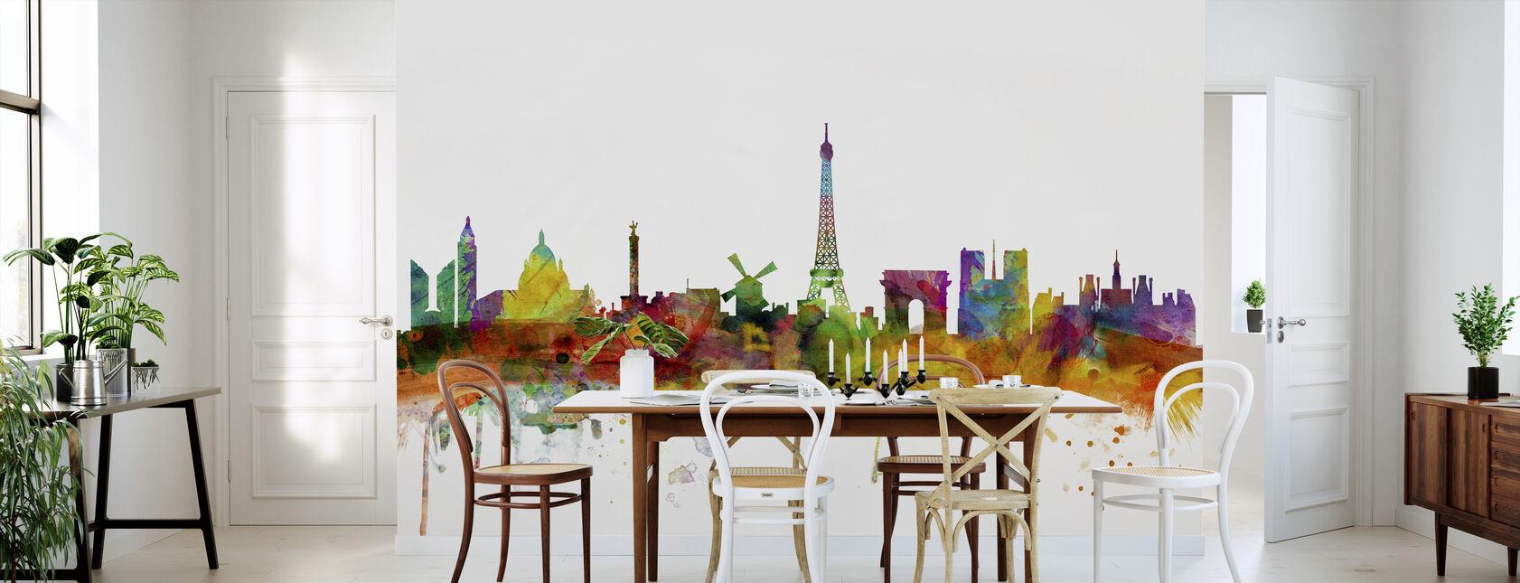 Paris Skyline - Wallpaper - Kitchen