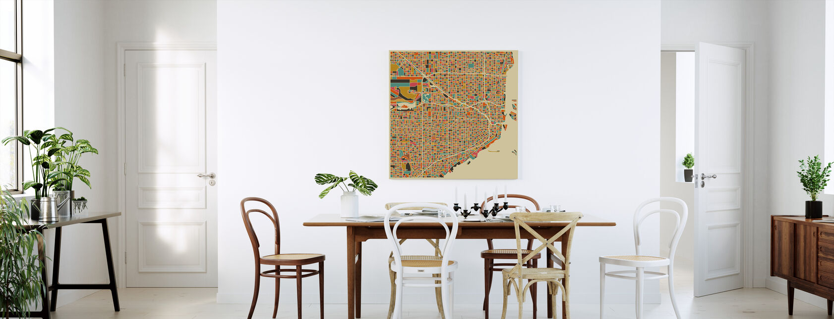 Maps of American Cities