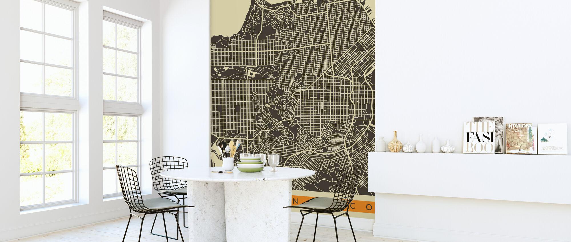 Kartta - San Francisco - Tapetti - Keittiö