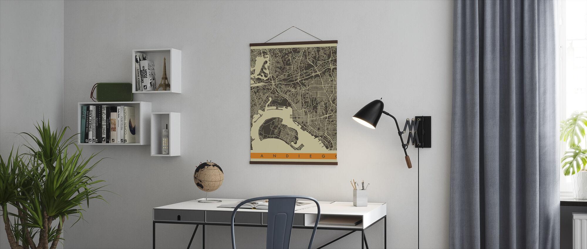Bykart - San Diego - Plakat - Kontor