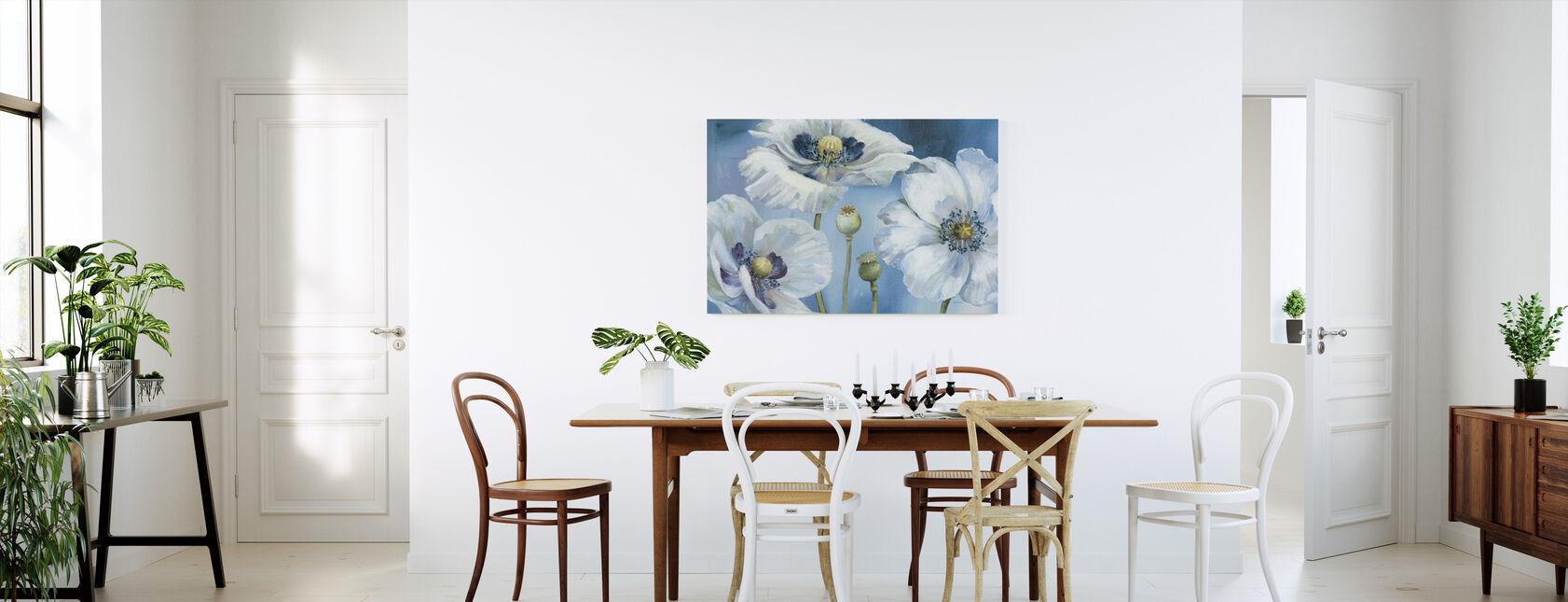 Blauwe Dans - Canvas print - Keuken