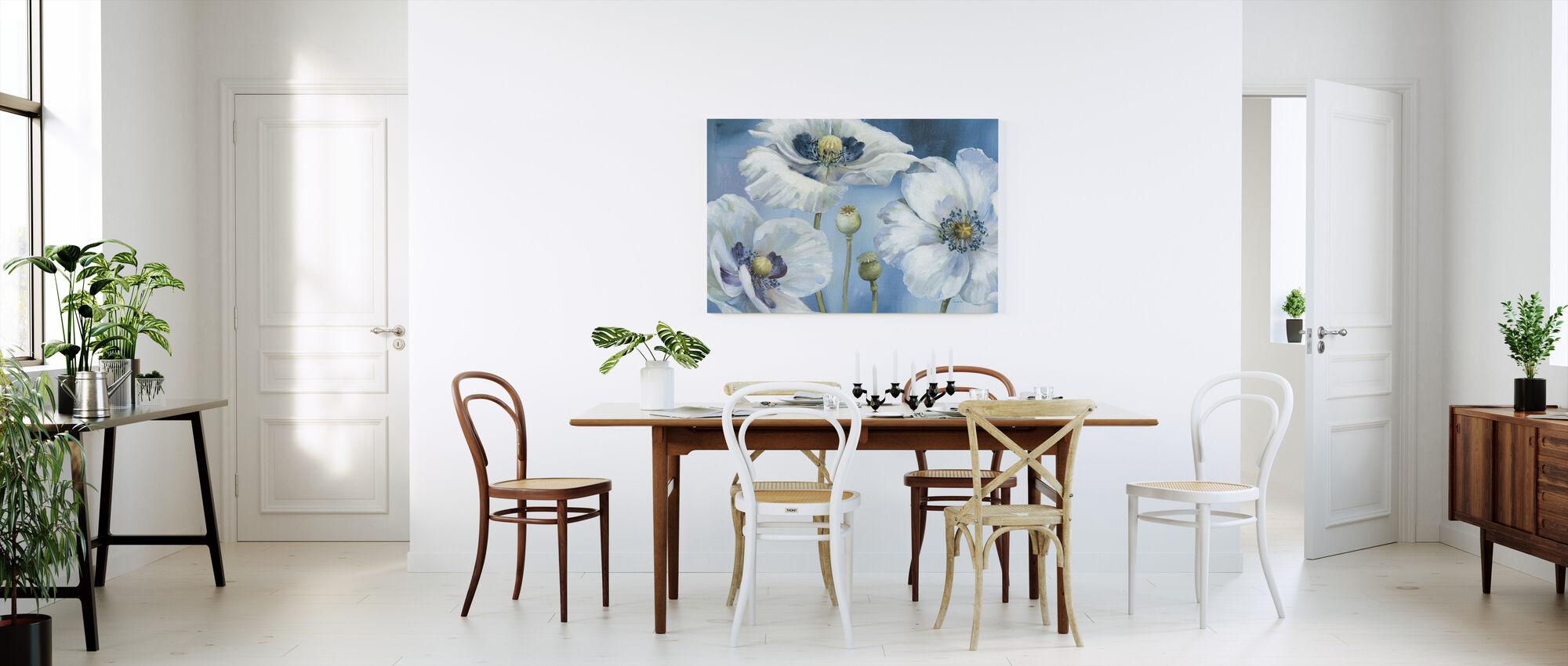 Blue Dance - Canvas print - Kitchen