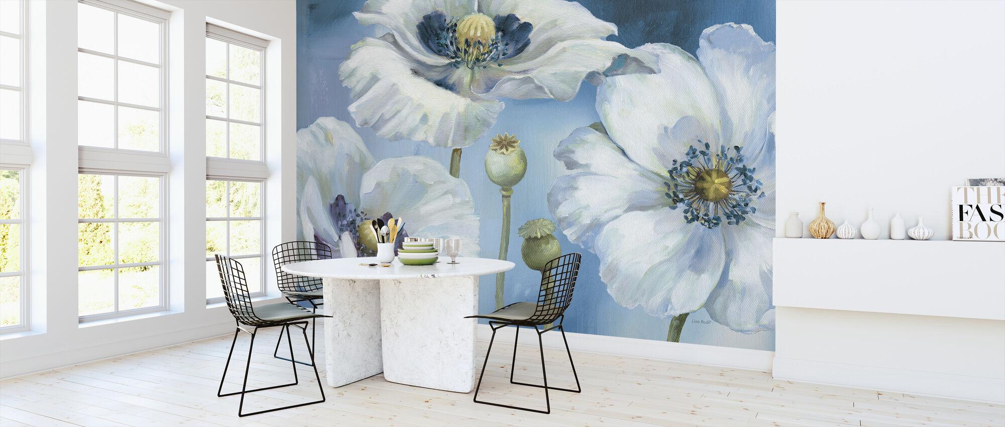 Blue Dance - Wallpaper - Kitchen