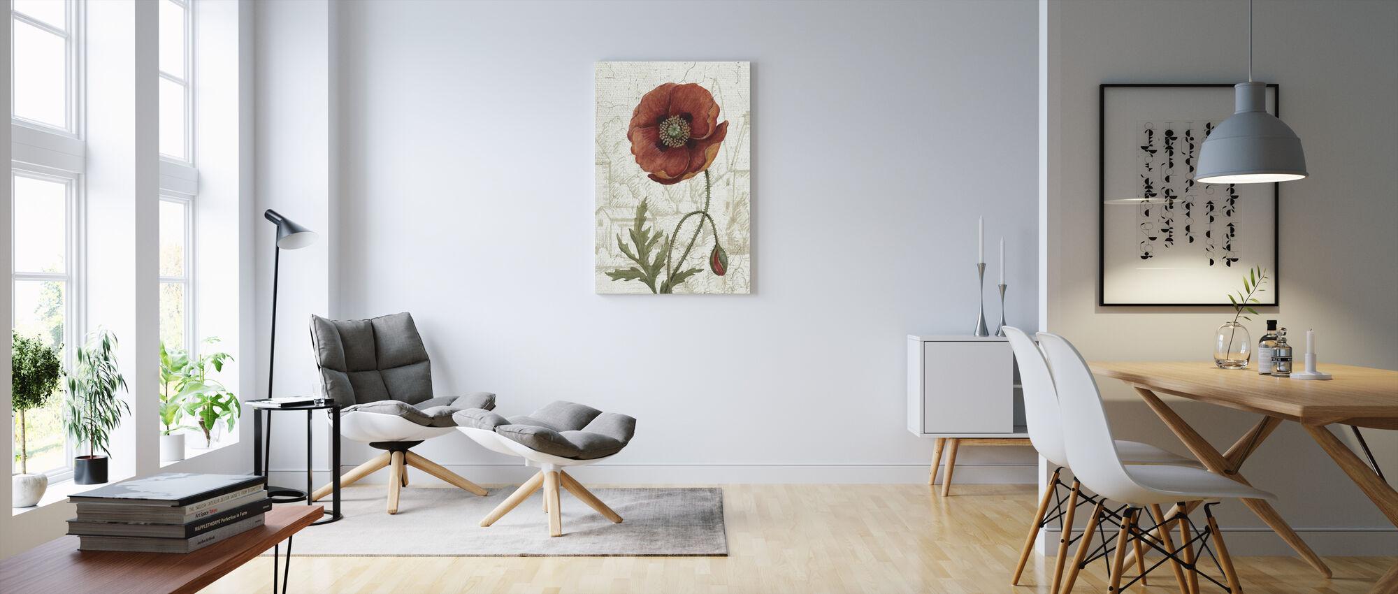 Royal Garden IV - Canvas print - Living Room