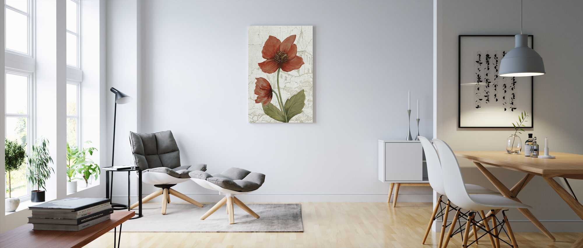 Royal Garden V - Canvas print - Living Room