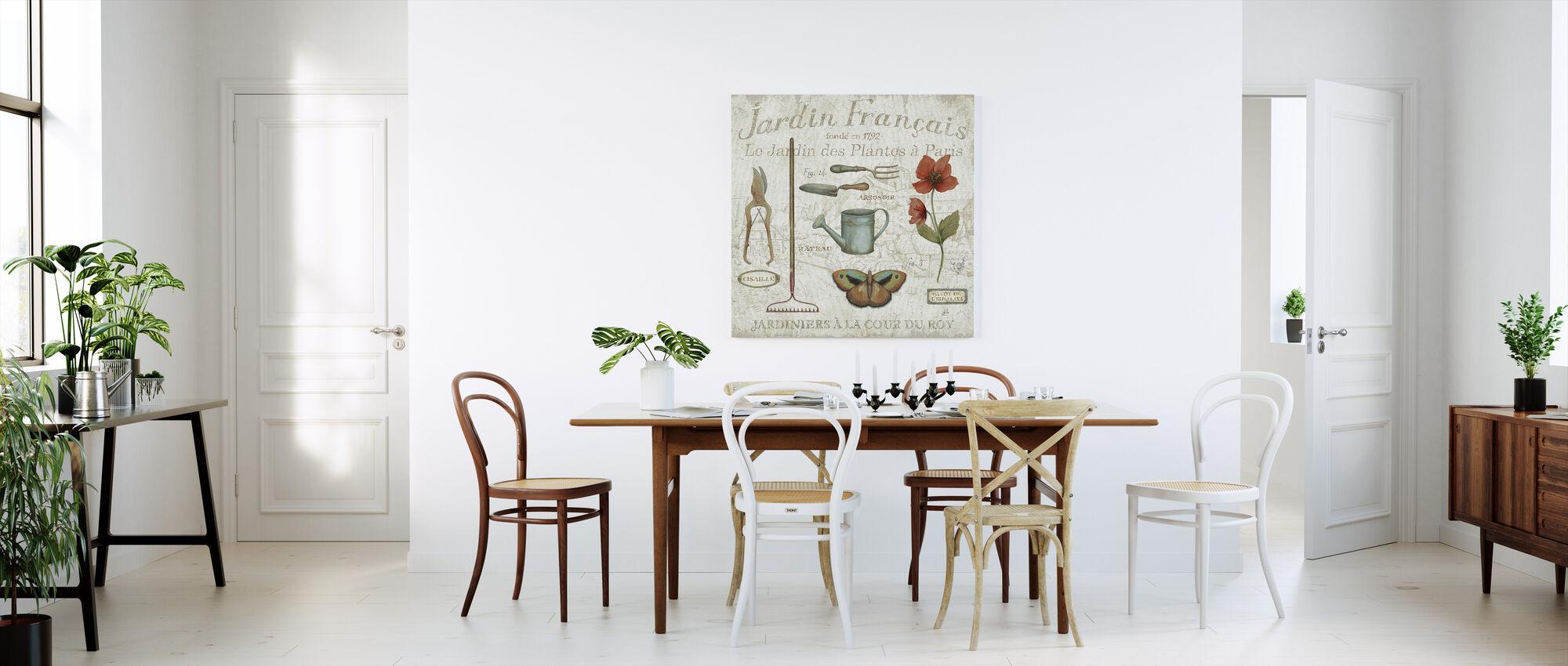 Royal Garden III - Canvas print - Kitchen