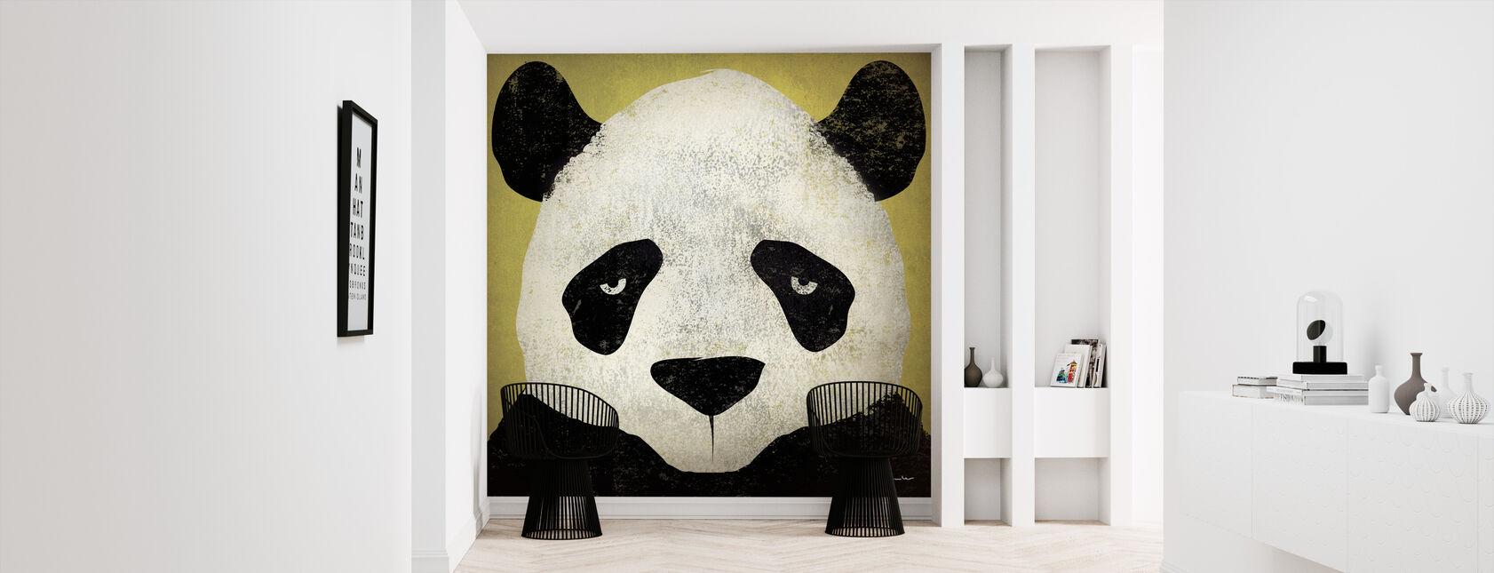 Ryan Fowler - Panda - Behang - Gang