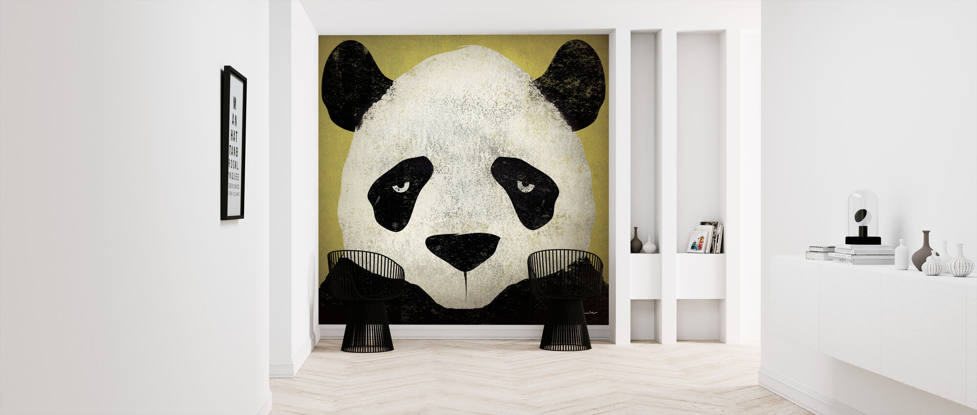 Ryan Fowler - Panda - Wallpaper - Hallway