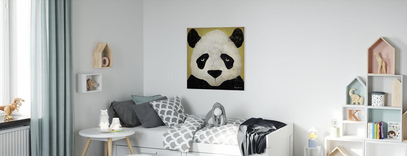 Ryan Fowler - Panda - Canvastaulu - Lastenhuone