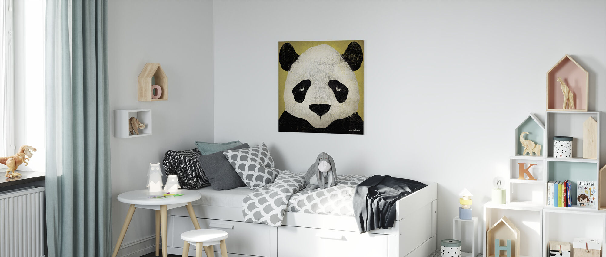 Ryan Fowler - Panda - Canvas print - Kids Room
