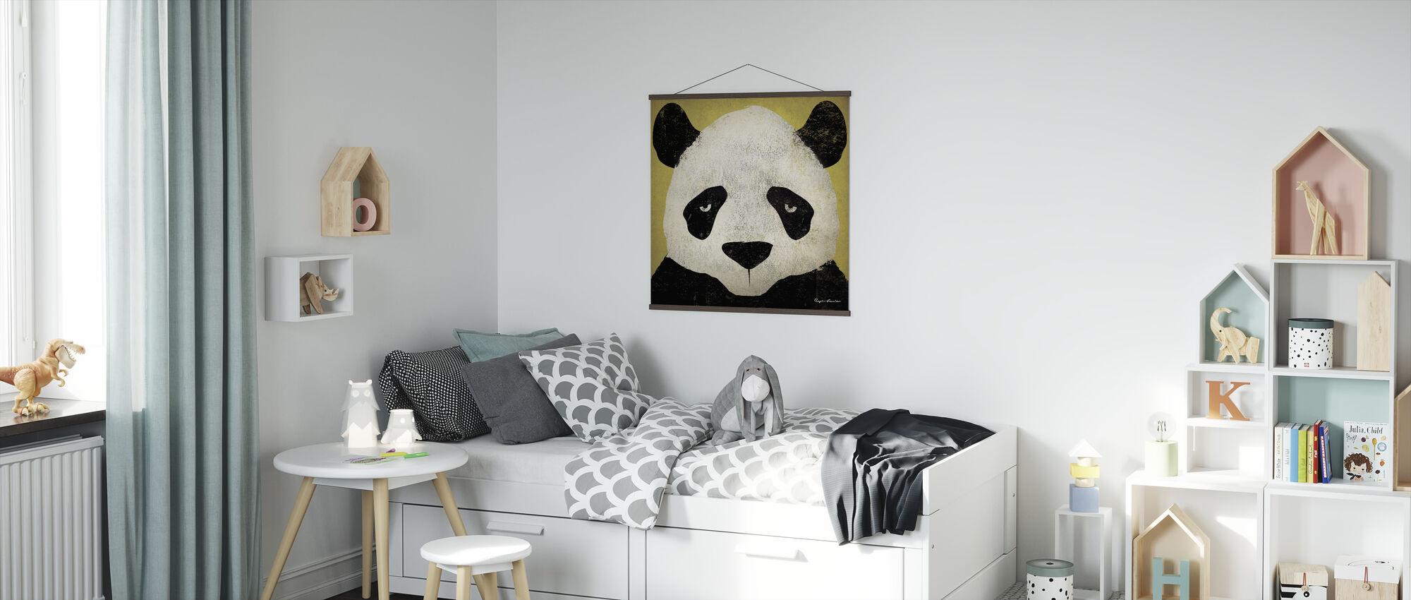 Ryan Fowler - Panda - Poster - Kids Room