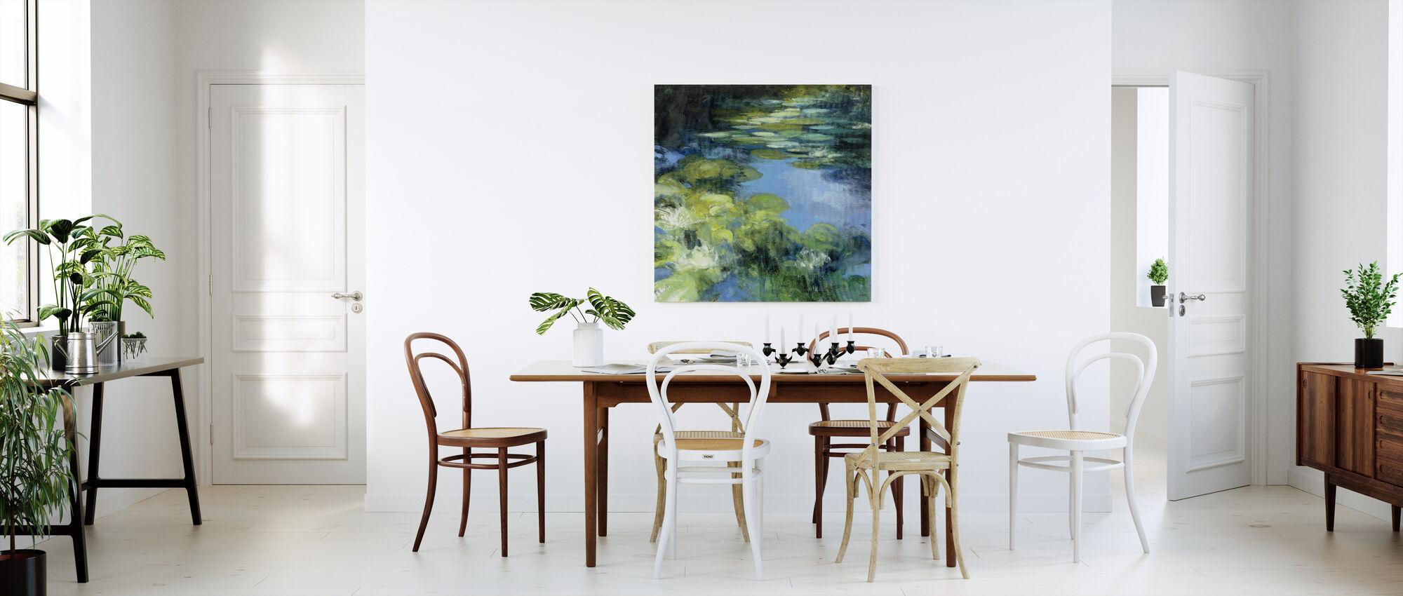 Water Lilies II - Canvas print - Kitchen