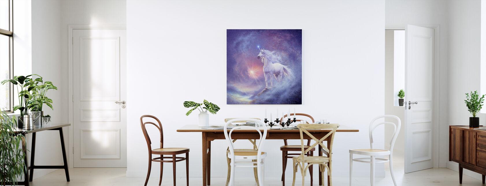 Astral Enhörning - Canvastavla - Kök