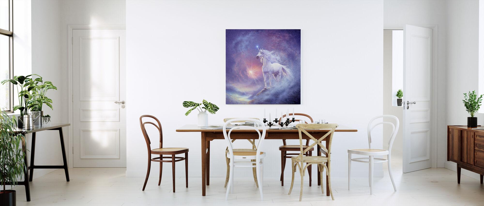 Astral Unicorn - Canvas print - Kitchen