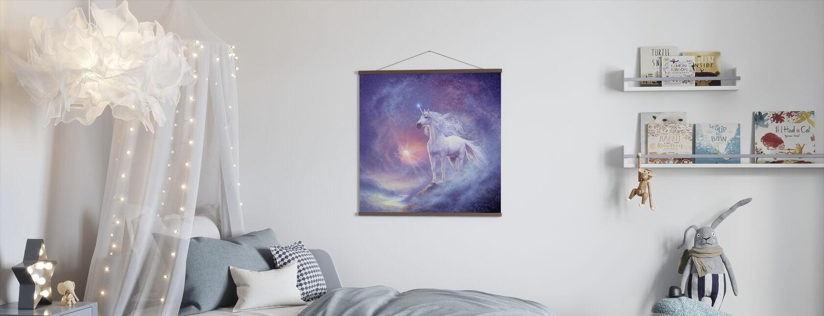 Unicornio Astral - Póster - Cuarto de niños
