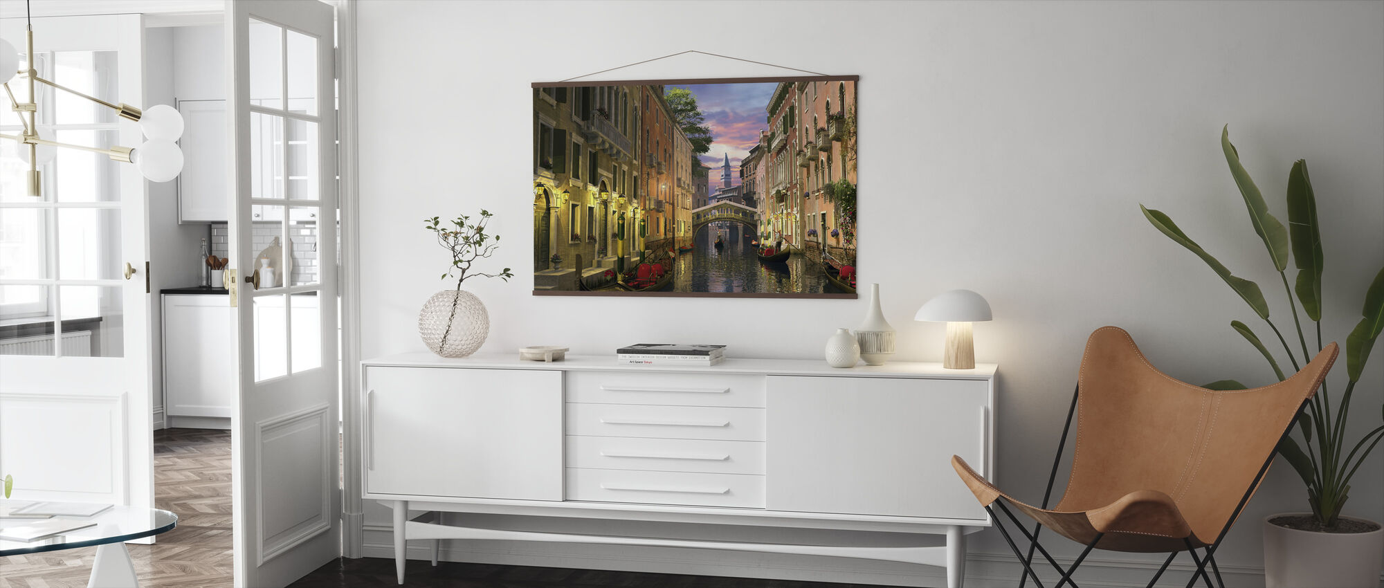 Venice at Dusk - Poster - Living Room