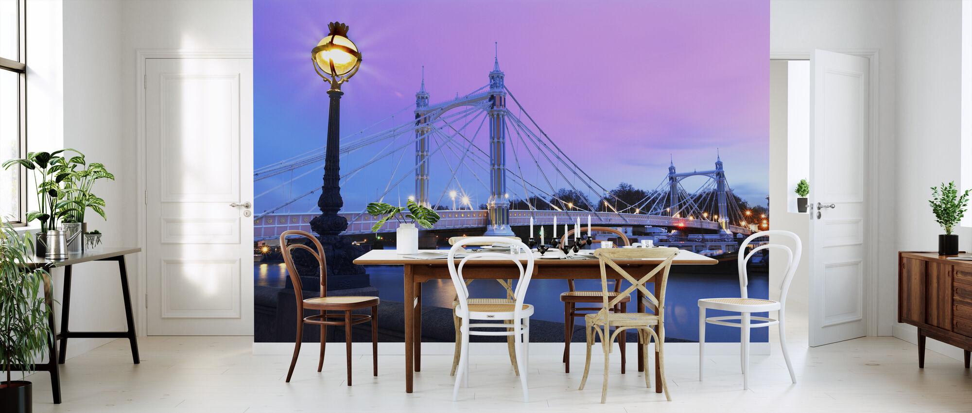 Albert Bridge Londen - Behang - Keuken