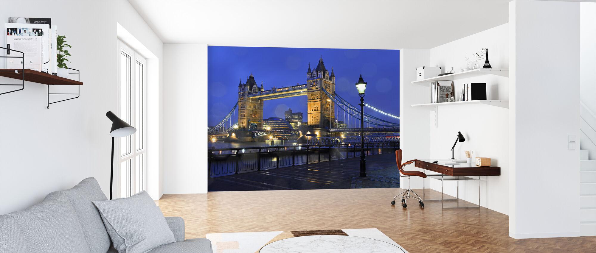 Tower Bridge London - Tapet - Kontor