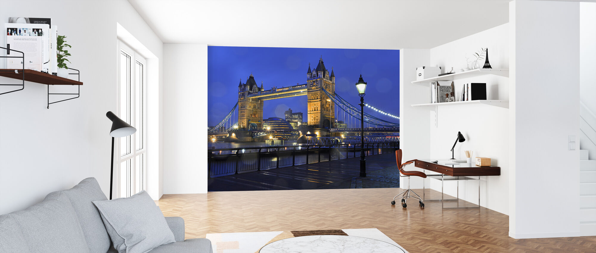 Tower Bridge Londres - Papel pintado - Oficina