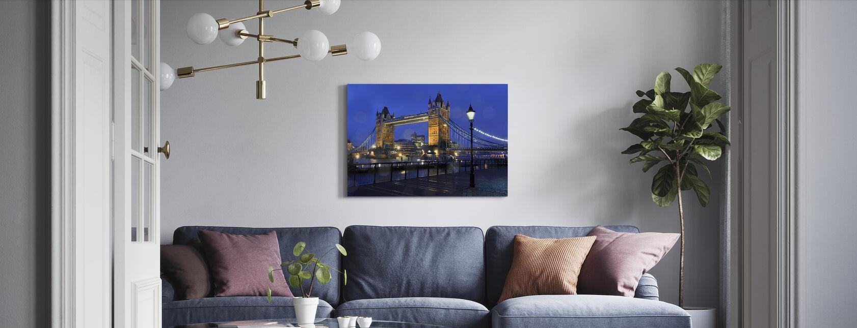 Tower Bridge London - Canvas print - Living Room