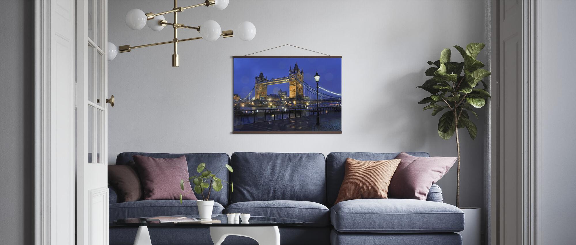 Tower Bridge Lontoo - Juliste - Olohuone