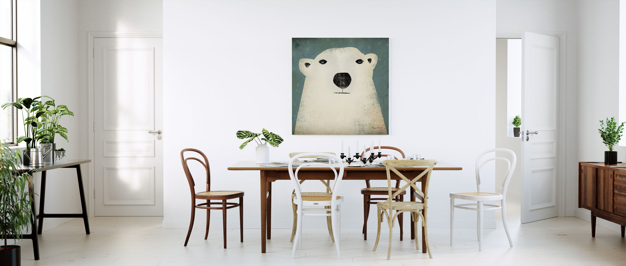Ryan Fowler - Polar Bear - Canvas print - Kitchen