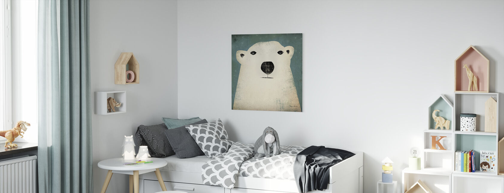 Ryan Fowler - Polar Bear - Canvas print - Kids Room