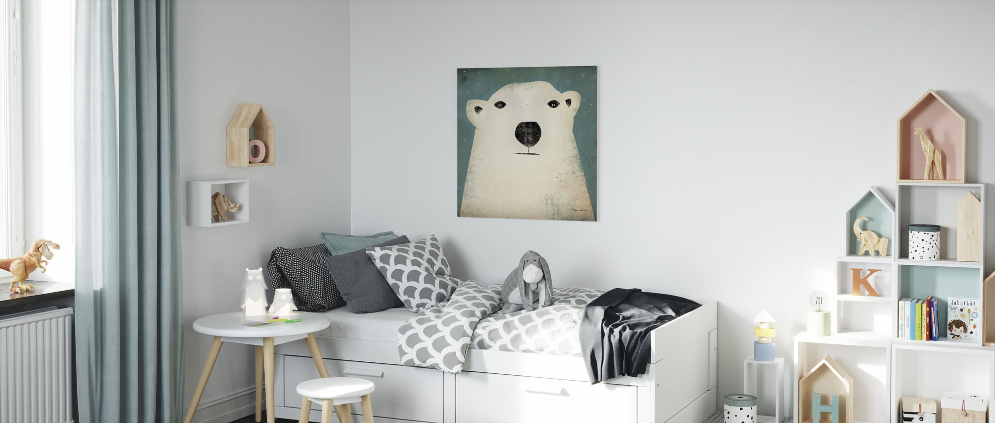 Ryan Fowler - Polar Bear - Canvas print - Kids Room