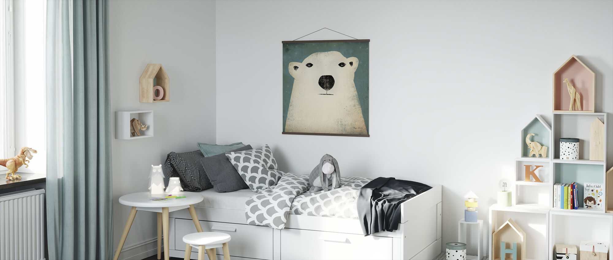 Ryan Fowler - Polar Bear - Poster - Kids Room