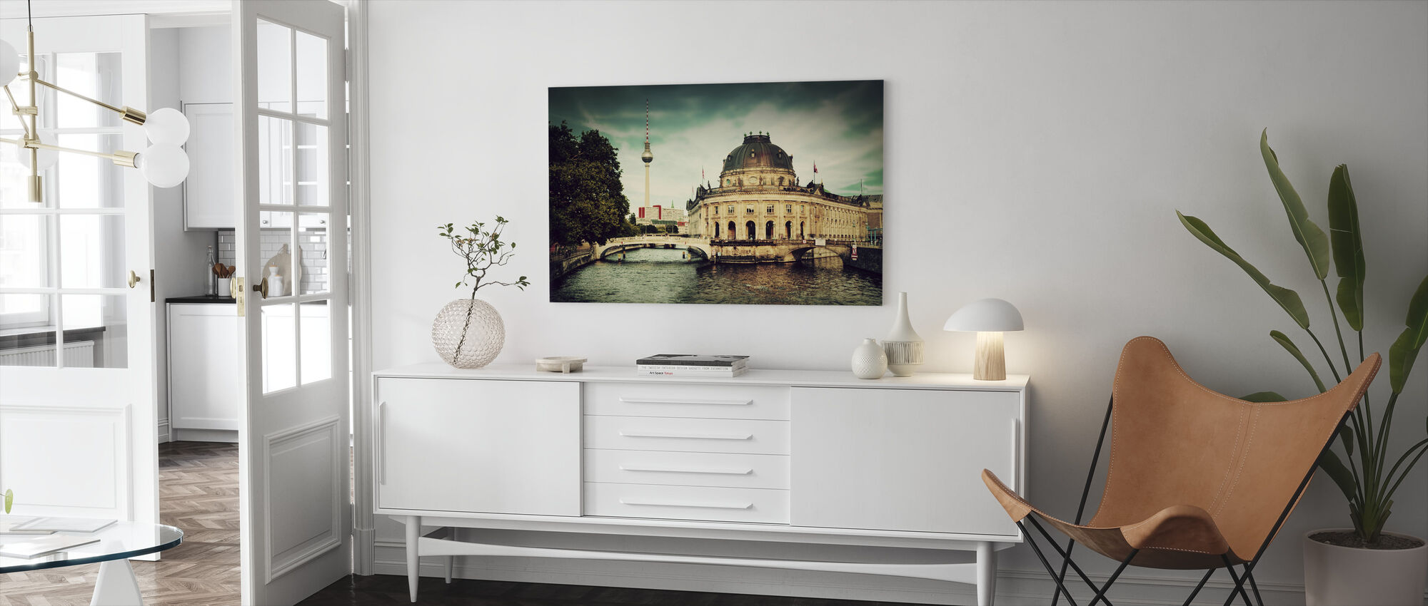 The Bode Museum in Berlin - Canvas print - Living Room