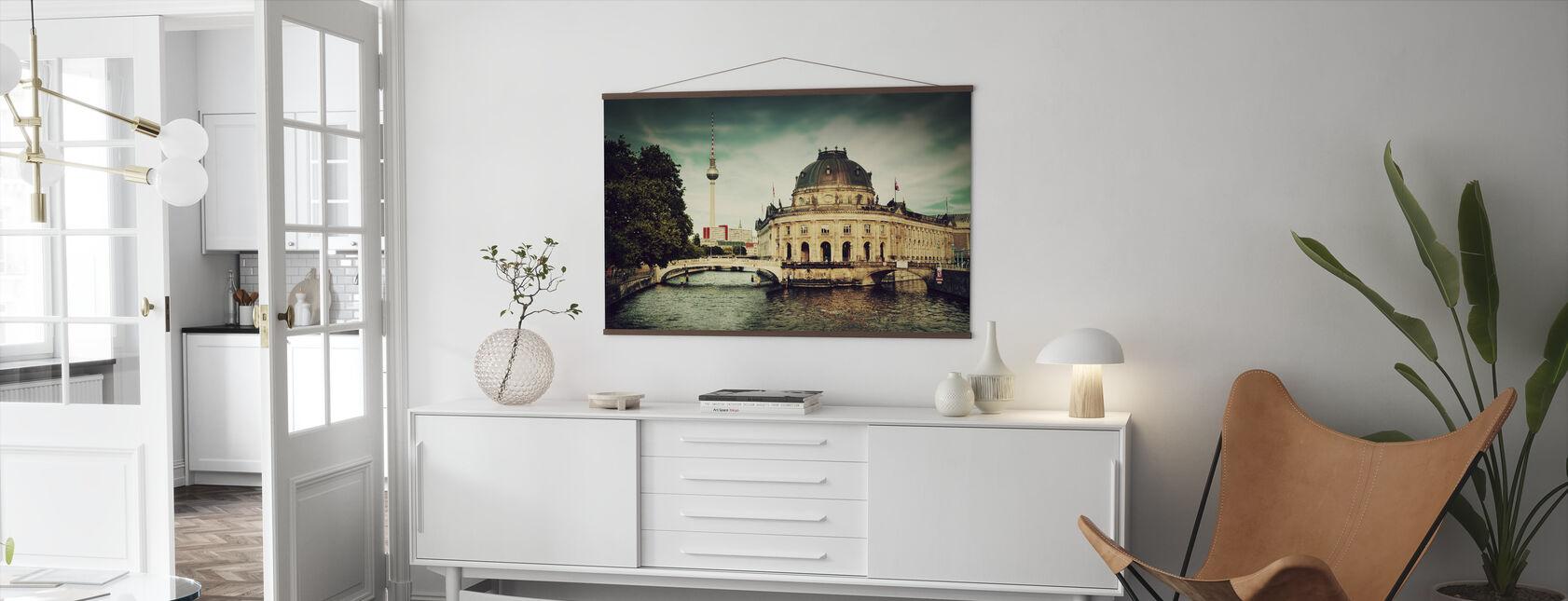 The Bode Museum in Berlin - Poster - Living Room