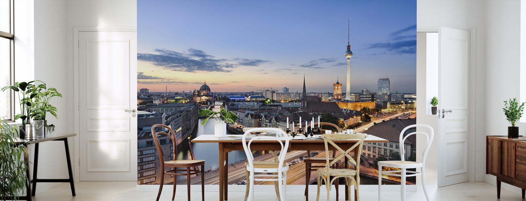 Berliinin horisonttiin panoraamanäkymät - Tapetti - Keittiö