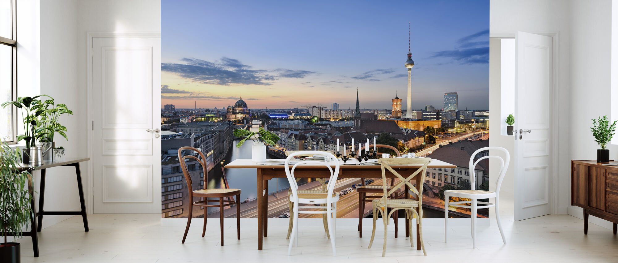 Berlin Skyline Panorama - Wallpaper - Kitchen