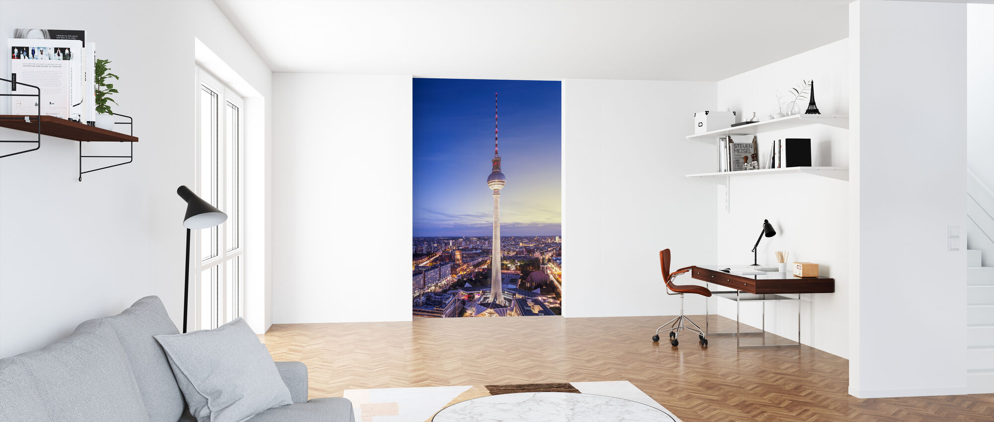 Berlin, Germany. View of TV tower - Wallpaper - Office