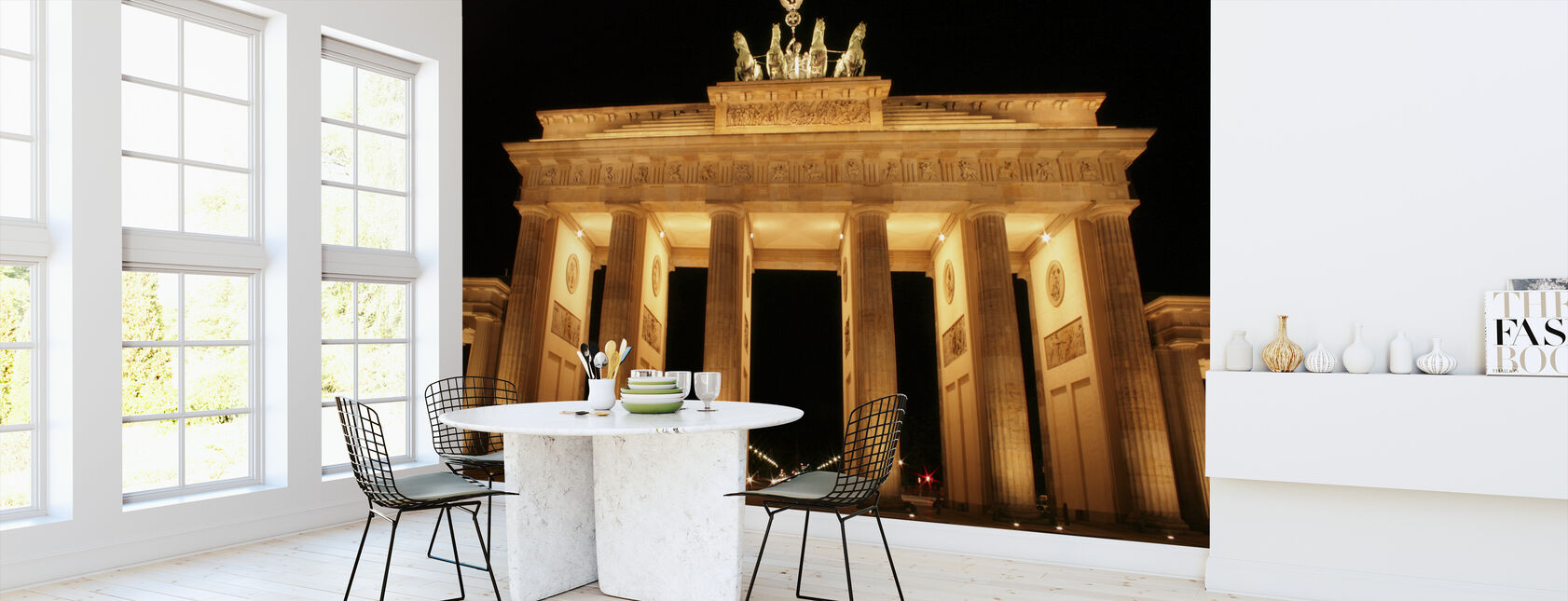Brandenburg Gate at Night - Wallpaper - Kitchen