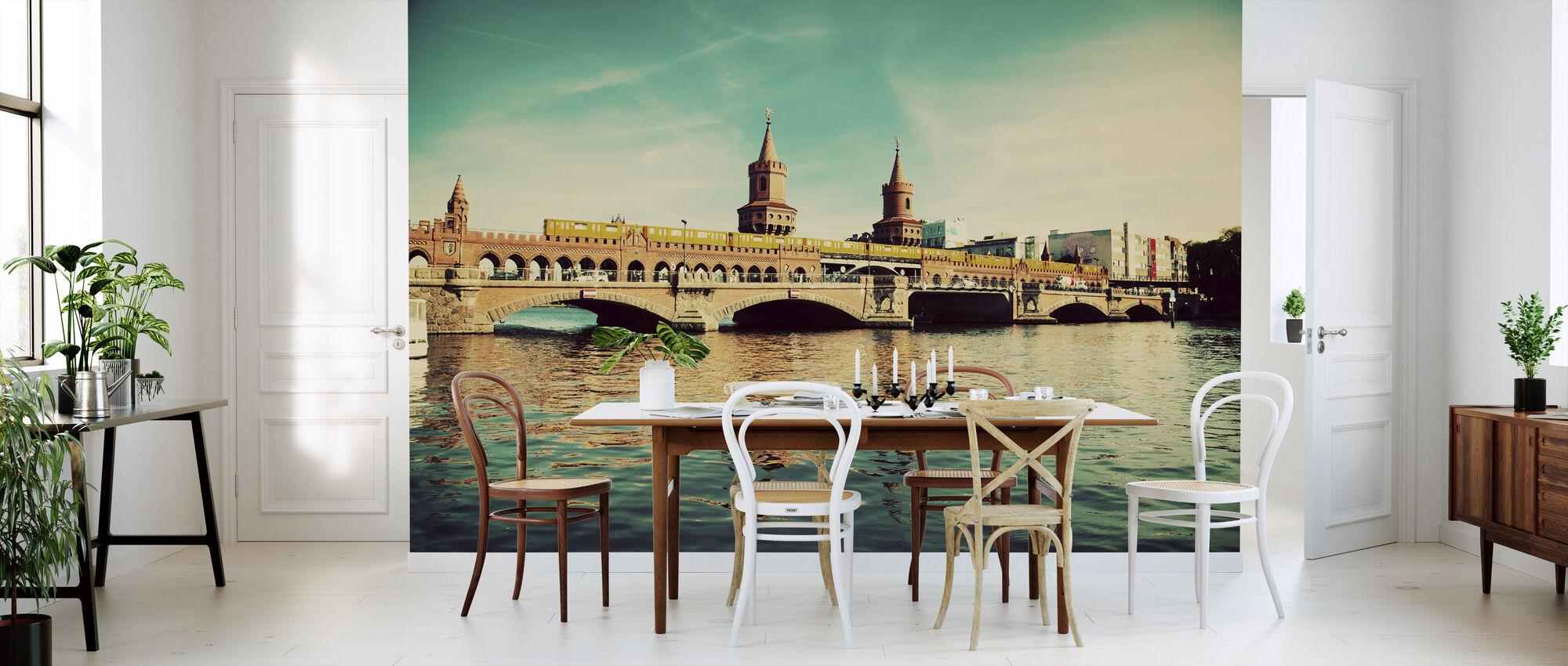 The Oberbaum Bridge and River Spree in Berlin - Wallpaper - Kitchen