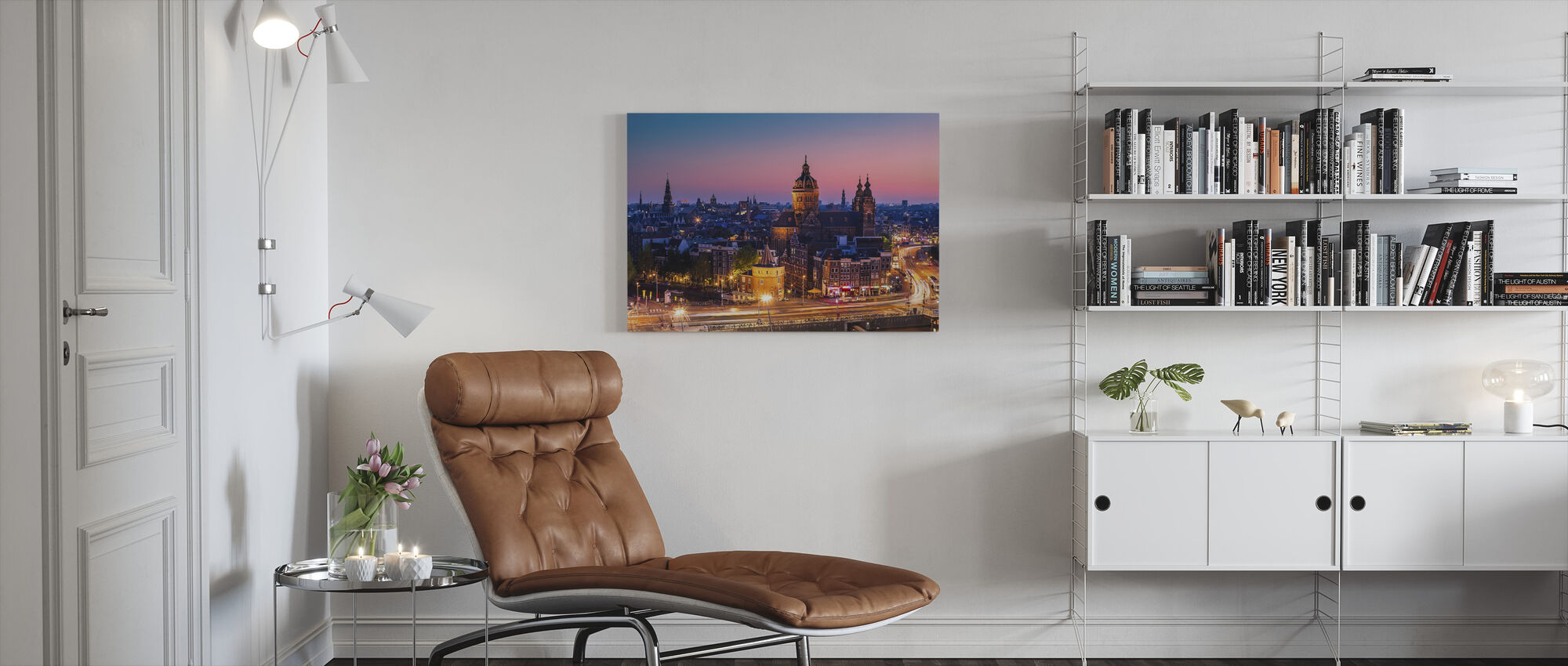 Amsterdam Stad - Canvas print - Woonkamer