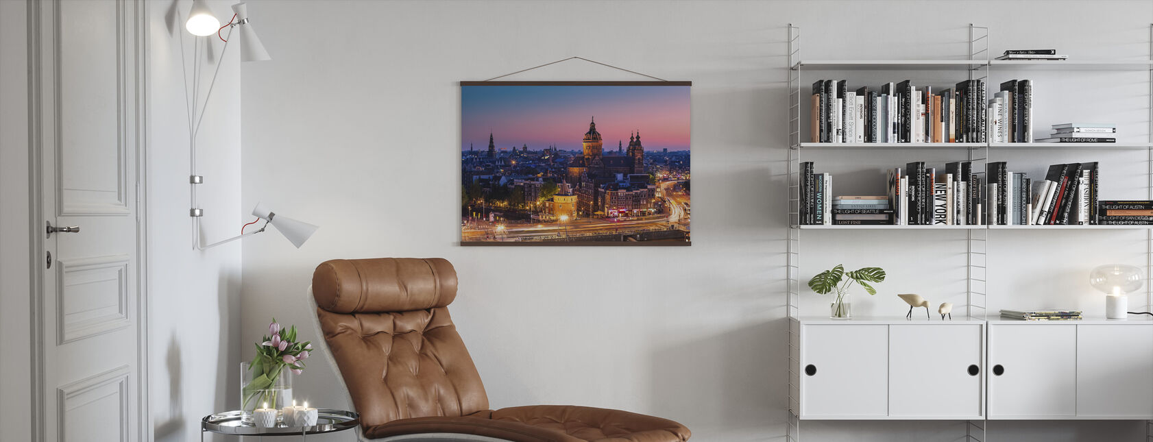 Amsterdam City - Poster - Living Room
